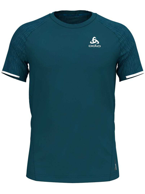 Odlo BL Zeroweight Ceramico SS Top Crew Neck Men blue coral